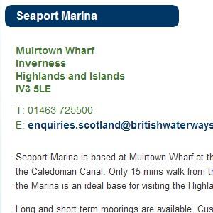 Seaport Marina - Directory - Marine Blast Marine Directory